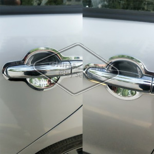 Fit Chevy Cruze 2010 2012 2013 2014 2015 2016 Chrome Door Handle Covers Bowls