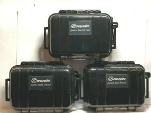 Lot Of 3 Nonin Justice Mark Ii Rugged Carry Case 54095 Pulse Oximeter