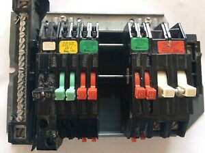 Zinsco Electrical Panel 4 20 A 2 30a 1 2p 50a 1 2p 60a Breakers Good Cond