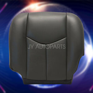 For 03 04 05 2006 Chevy Silverado 1500 2500 Driver Bottom Seat Cover Dark Gray