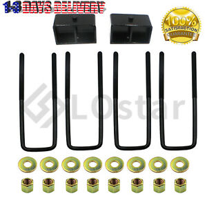 3 Rear Leveling Kit For 1999 2020 Chevy Silverado 1500 Gmc Sierra 1500