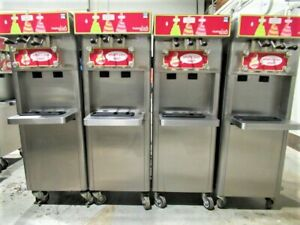 4 2012 Stoelting F231 Water cooled 3 flavor Soft Serve Machines