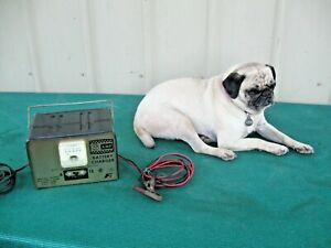 Vintage Federated Fi Battery Charger 6 Amp 6 And 12 Volts