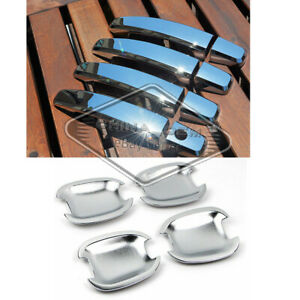 Fit 2011 2012 2013 2014 2015 2016 Chevy Sonic Chrome Door Handle Covers Bowls