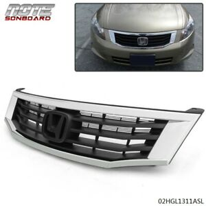 Fit For Honda Accord 2008 2009 2010 4 door New Front Mesh Grille Grille Frame