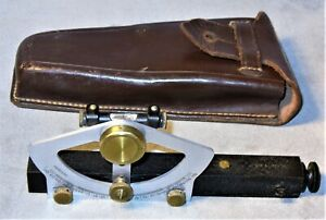 Vintage A Lietz Co Adney Level clinometer surveying Tool pre numbering case