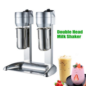 300w Commercial Electric Stainless Steel Milk Shake Machine Milk Tea Drink Mixer