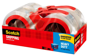 Scotch Heavy Duty Shipping Packing Tape 1 88 X 54 6 Yds 4 Rolls 3850 4rd New
