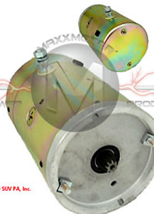 Motor For Curtis Plows 1tbm8 Double Ball Bearing 9 Spline Cw