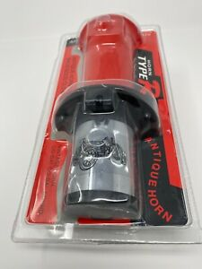 New Red 12v Antique Vintage Classic Old Car Air Horn Ooga Sound For Car Suv Boat