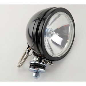 Round Driving 6 Inch Black Housing Halogen Off road Light Grote 64481 5