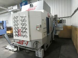 Haas Hs 1 Rp 2001 Tsc Video Very Good Horizontal Machining Center Mill Ready
