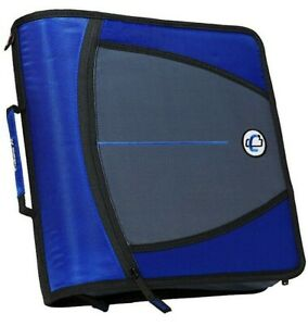 Case It The Mighty Zip Tab Binder 3 Capacity 5 Color Expanding File W Strap