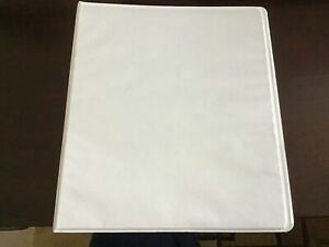 3 Ring Binder For School And Office White 2 Inch