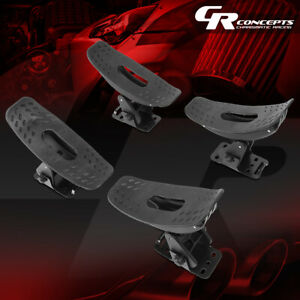 4pcs Adjustable Saddle Kayak Roof Top Mount Rack Canoe Snowboard Boat Car Truck