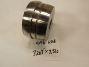 Used Ammco 1 Arbor Brake Lathe Rotor Double Taper Adapter 9196 3 203 X 3 560