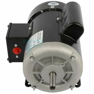 1 2hp Electric Motor For Air Compressor Single Phase 1750rpm 60hz 115 230v