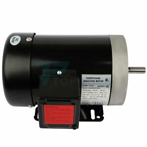 3 4hp Electric Motor For Air Compressor 3 Phase 1750rpm 60hz 230 460volt