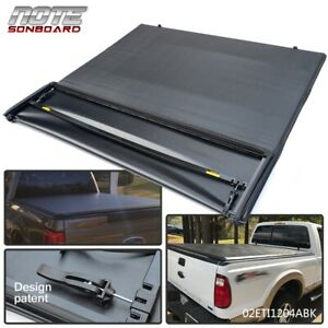 Fit For Ford F250 f350 f450 99 2017 Lock 4 Fold Tonneau Cover 6 8 Ft Short Bed