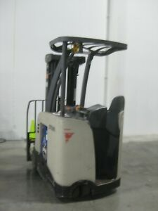 Crown Rc5520 30 Electric Forklift 3 Wheel Stand Up 2019 Enersys Battery