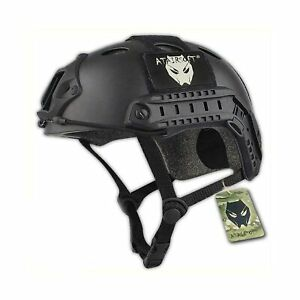 ATAIRSOFT PJ Type Tactical Paintball Airsoft Fast Helmet Black $47.33