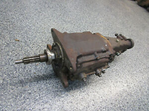 Camaro Firebird Nova Chevelle Saginaw 4 Speed Transmission 3 50 First Gear