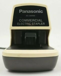 Vintage Panasonic Electric Stapler As 300nn Commercial Desk Top Heavy Duty