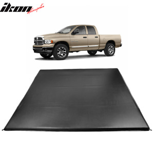 Fits 02 08 Dodge Ram 1500 2500 3500 6 1 Ft Truck Bed 4 Fold Led Tonneau Cover