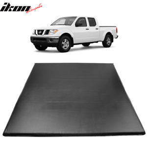 Fits 05 19 Nissan Frontier 5 Ft 60 Truck Short Bed Tri Fold Led Tonneau Cover