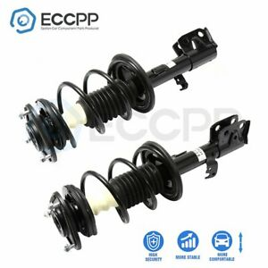 For Toyota Corolla 2009 2013 Front 2 Complete Struts Coil Spring Assemblies