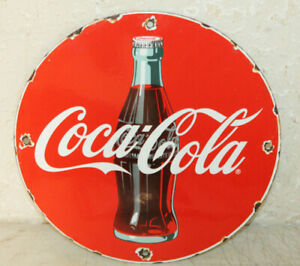 Coca Cola Vintage Style Porcelain Signs Country Sore Gas Station Advertising 12
