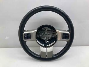 Dark Gray Leather Wrapped Steering Wheel Oem 11 17 Compass Patriot 11 12 Liberty