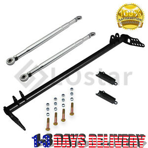 Front Traction Control Lower Tie Bar Kit For 92 01 Honda Civic Acura Integra