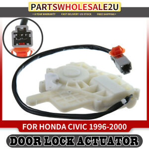 Front Or Rear Right Rh Door Lock Actuator For Honda Civic 1996 1997 2000 L4 1 6l