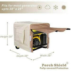Porch Shield Waterproof Generator Cover Heavy Duty Cover For Portable