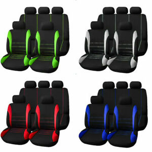Auto Car Front Seat Covers For Car Truck Suv Van Universal Protectors Polyester