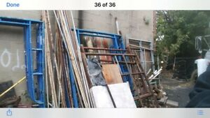 Used Assorted Scaffolding Pick Up Only