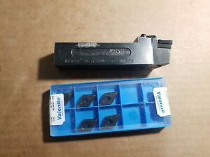Kennametal Indexable Tool Holder 1 Shank Model Ddqnl 164c New Inserts