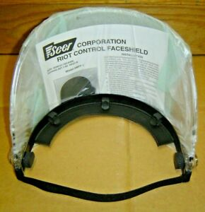 New Seer Riot Control Face Shield Mff 1 For Pasgt Nato M 1 Rothco Helmet Visor