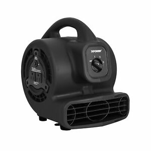 Xpower P 80a Mini Mighty Air Mover Floor Fan Dryer Utility Blower With Bui
