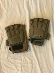Matrix Finger less Gloves Color Tan Size Small Airsoft