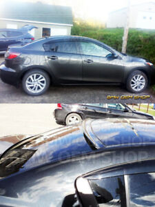 Painted B Design Roof Spoiler For Mazda 3 2nd Gen Bl 2008 2013