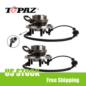 2pcs For Ford Explorer Mercury With Abs Front Wheel Hub Bearing Assembly 515050
