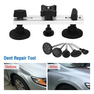 Car Paintless Dent Puller Tabs Bridge Lifter Body Repair Hail Removal Tool Kit