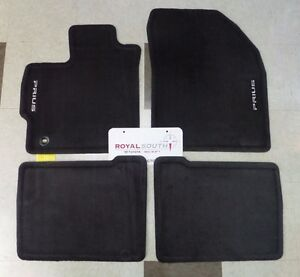 Toyota Prius 2012 2015 Black Carpet Floor Mats Genuine Oem Oe