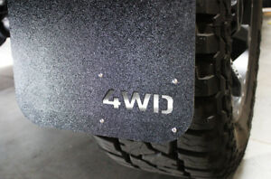 Set Of 4wd Mud Flaps Splash Guard Front Rear 4 Pc For 2005 17 Ford F 150 Truck