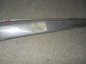 Nos Tail Fin Deck Lid Trim Mouldings 59 1959 Buick Electra Invicta Lesabre Gm