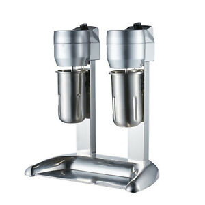 Commercial Electric Milk Shake Machine Blenders Tea Drink Mix Milkshake Mixer Us