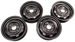 15 X 4 Steel Wheel Rim Set 68 72 Vw Beetle Aircooled Et40 Genuine