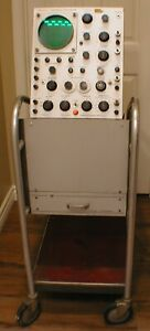 Vintage 1950s Tektronix Rca Type 500 Scope mobile Oscilloscope Cart Super Rare